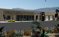 Western Architecture Auto Dealerships
